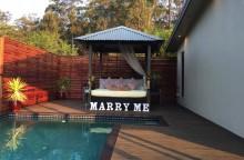 Wind Spirit 'Marry Me' Pool Lights